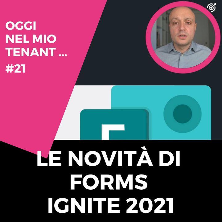 Le novità di Microsoft Forms Ignite 2021