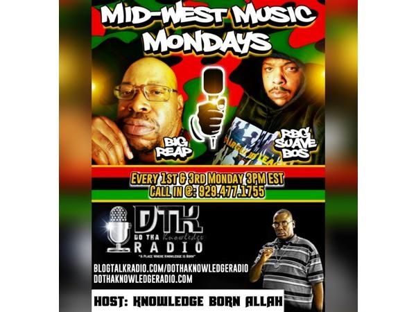 Midwest Music Monday ft. RBG Suave Bos and Big Reap