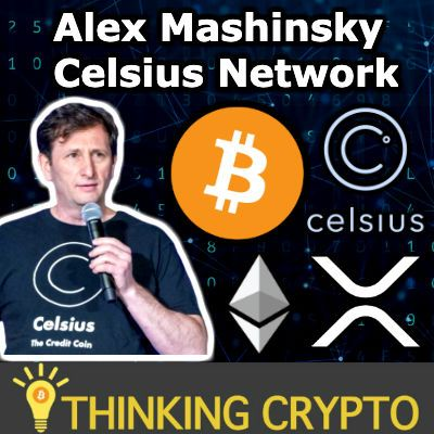 Interview: Alex Mashinsky CEO of Celsius Network - Crypto Lending, Borrowing & Interest Earning - CEL Token - NYC Soon & More!