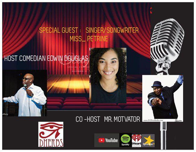 Uheardme 1st RADIO TALK SHOW -SINGER /SONGWRITER MISS_ PETRINE