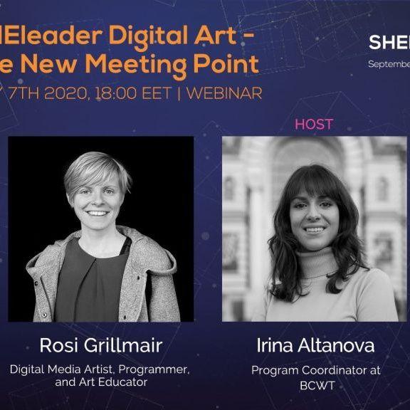 SHEleader Digital Art: The New Meeting Point