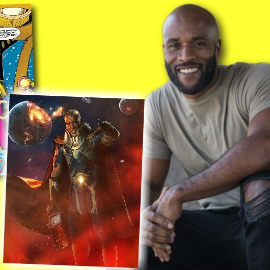 #302: From Crisis on Infinite Earths, actor LaMonica Garrett on playing Monitor and Anti-Monitor!