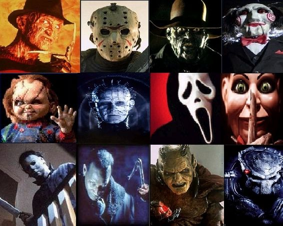 Movie Horror Villain Tournament