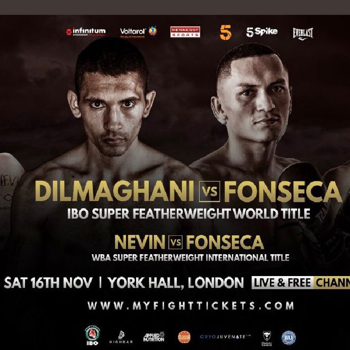 Preview Of 3Uk Boxing Card's This Weekend! Plus A IBO World SuperFeather Weight Title On The Line Aswel!On Channel 5 In The UK And Ireland!!