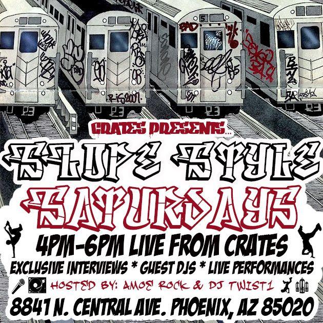 Crates 1 year Anniversary - Dj Swamp, Fact 135, Dj Twist 1, E$cott,Tunnel City