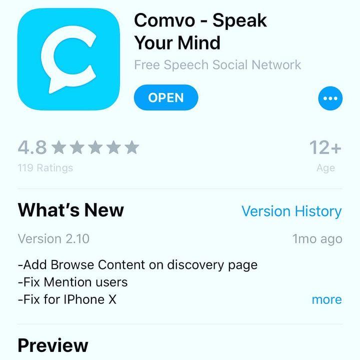 Extra Time With Staten Island's Rich Castaldo, Creator of COMVO Free Speech App