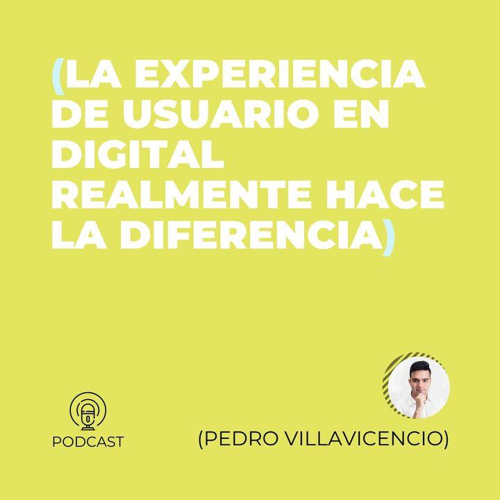 22 - Pedro Villavicencio (La experiencia de usuario en digital realmente hace la diferencia)