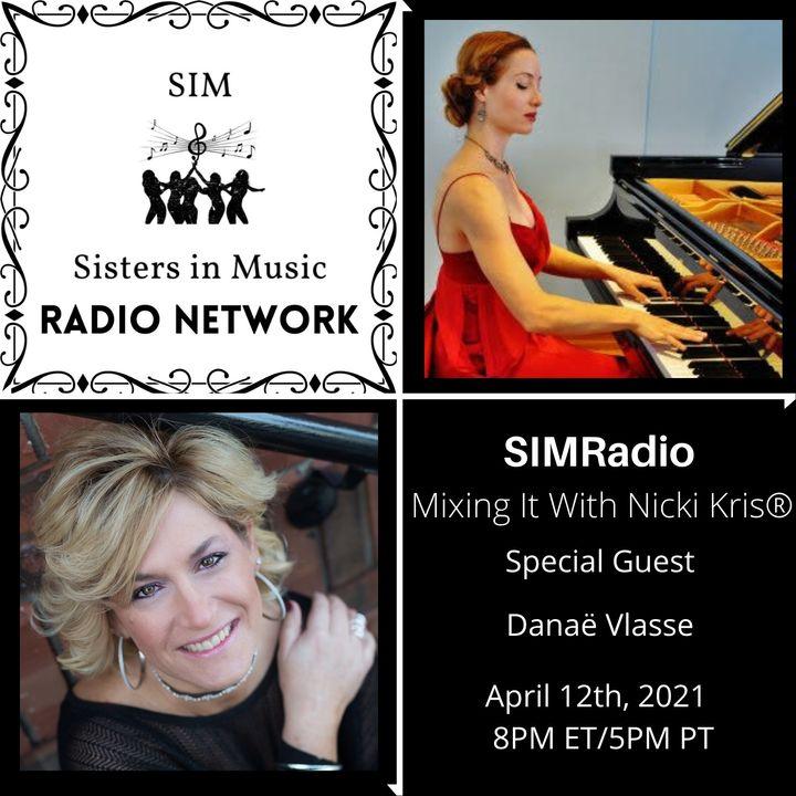 Mixing It with Nicki Kris - Composer Danaë Vlasse
