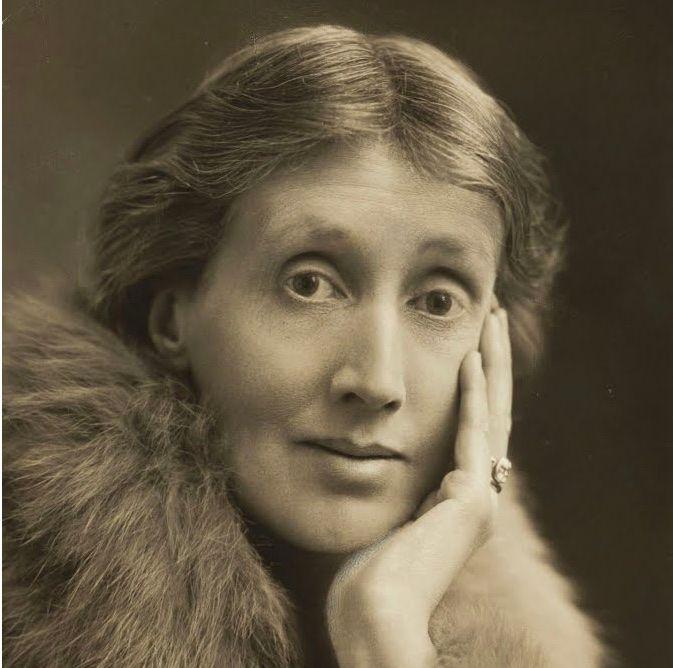 Retrato de una londinense, Virginia Wolf