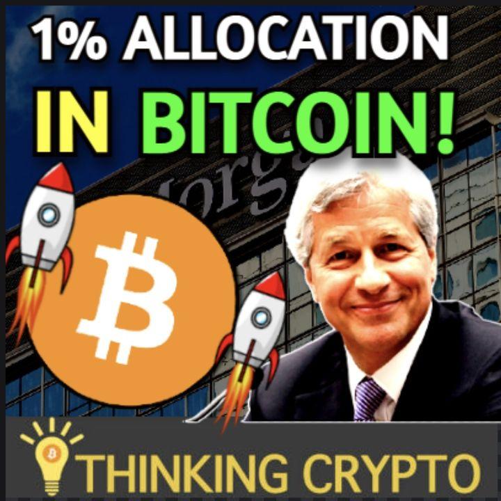 JPMorgan Says Allocate 1% in Bitcoin & SEC New Crypto Regulations