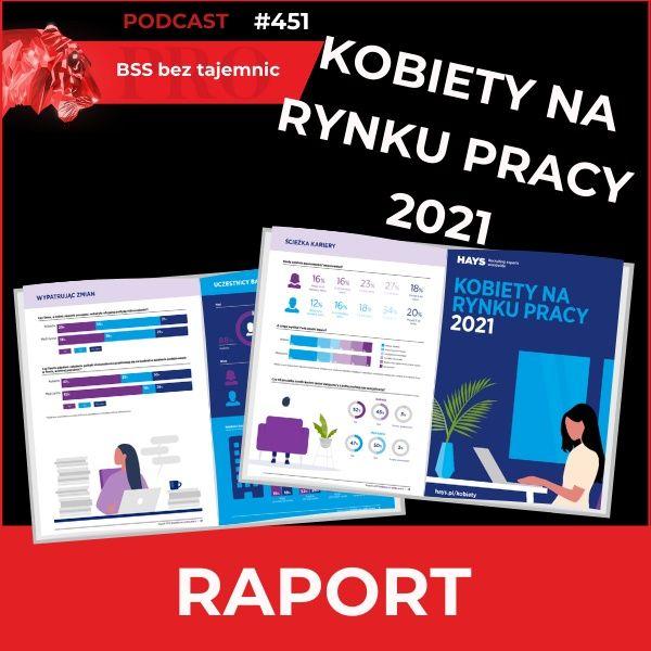 #451 Kobiety na rynku pracy 2021 - ciekawy raport od HAYS
