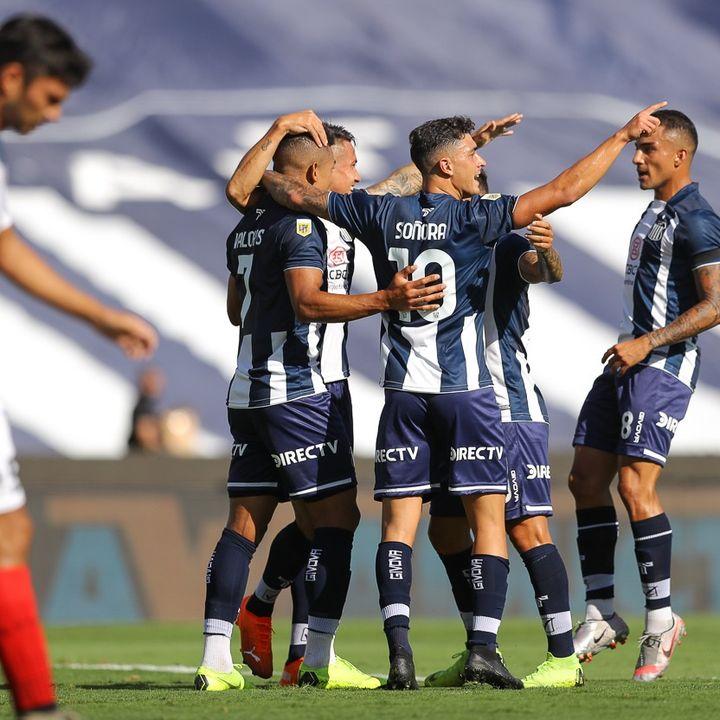 Gol de Talleres: Carlos Auzqui 1-0