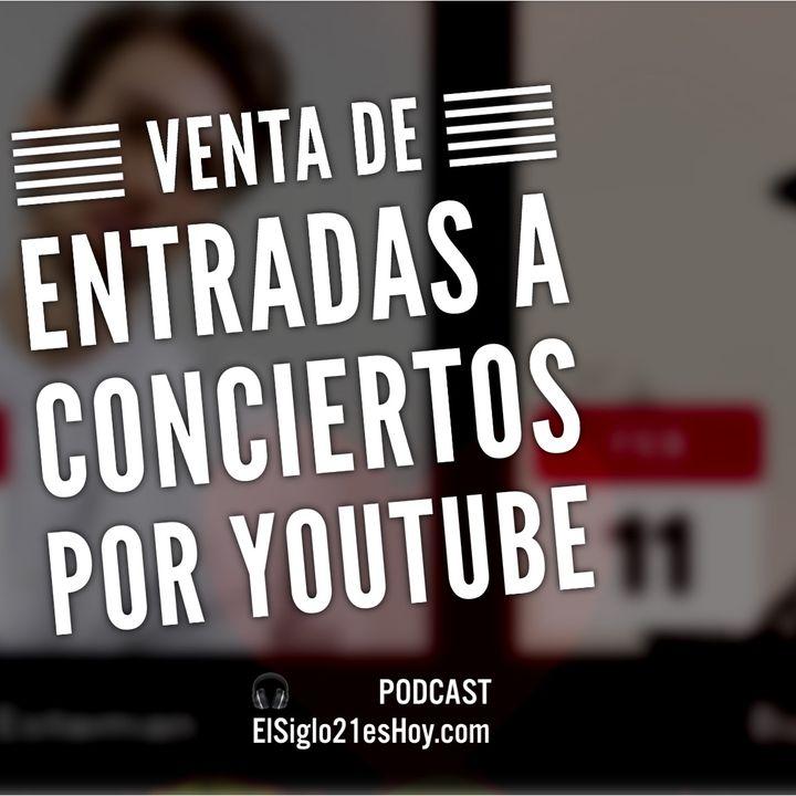 YouTube venderá entradas a conciertos