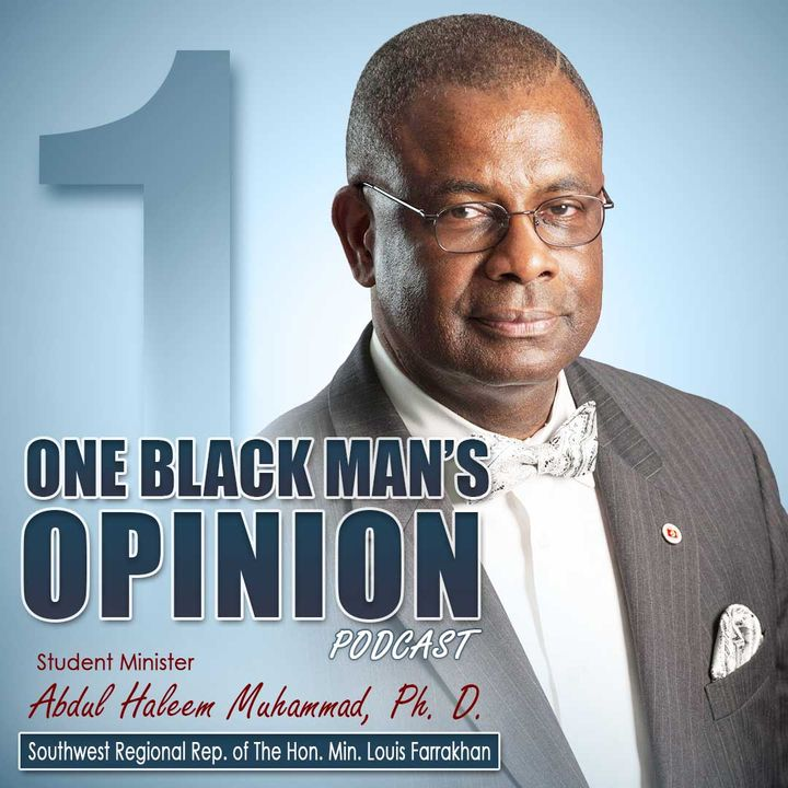 ONE BLACKMANS OPINION_MILLION MAN MARCH PLEDGE MADE OCTOBER 16, 1995