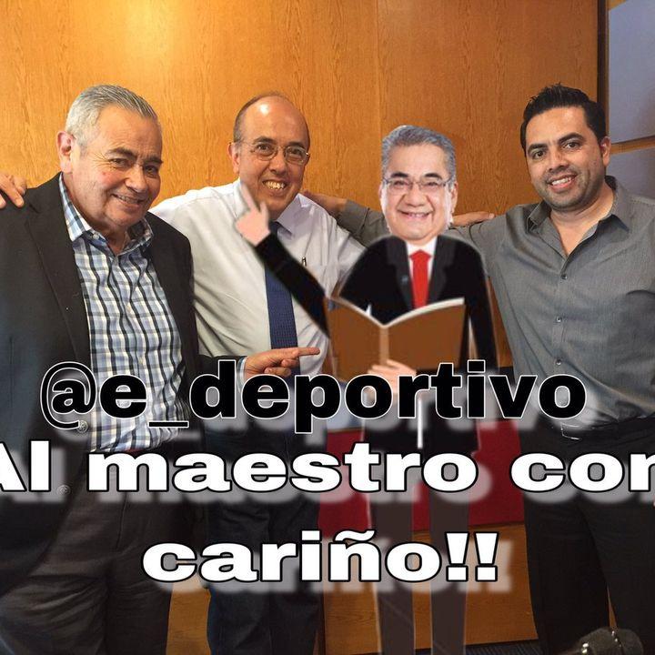 Al Maestro con Cariño en Espacio Deportivo de la Tarde 15 de Mayo 2019