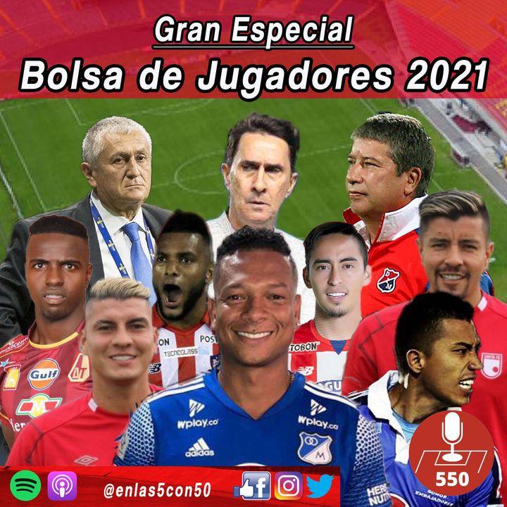 Bolsa de Jugadores y Fichajes 2021