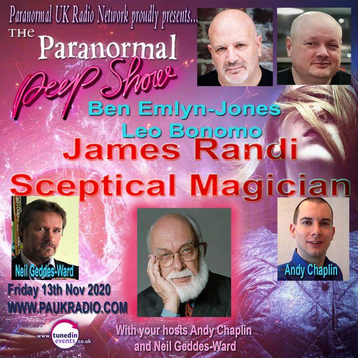 Paranormal Peep Show - James Randi, Skeptical Magician