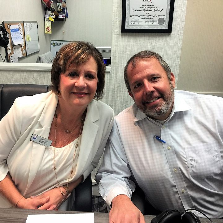 Toni Curtin with RE/MAX and Lee Blodgett with North Point Mortgage