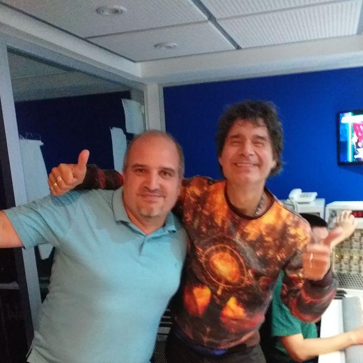 Juan Pablo Caivano con Claudio Maria Dominguez en Radio 10