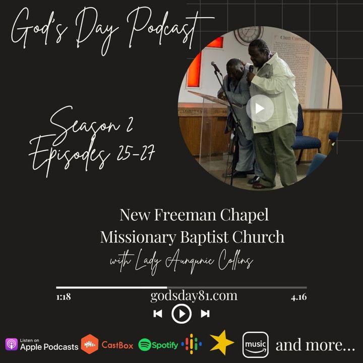 S2 E27 - God's Day with Lady Aunqunic Collins - Sunday Morning Worship on 6.20.2021