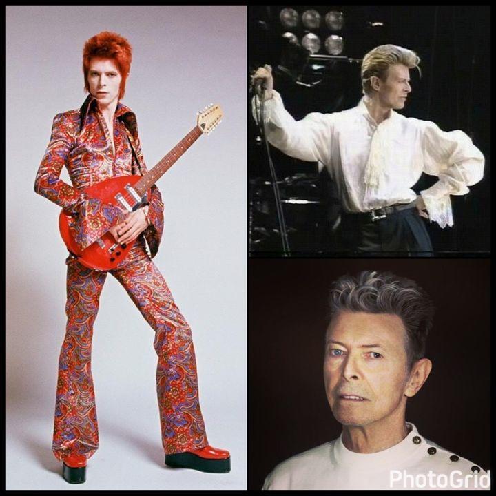 Bowie Round and Round