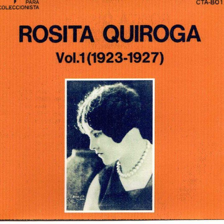 04 Rosita Quiroga , woman in the Tango