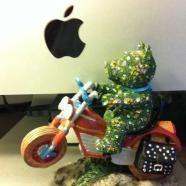 Geek llamando a Tierra