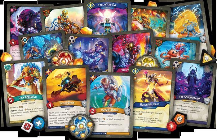 #Keyforge Worlds Info and NEW Mass Mutation Cards