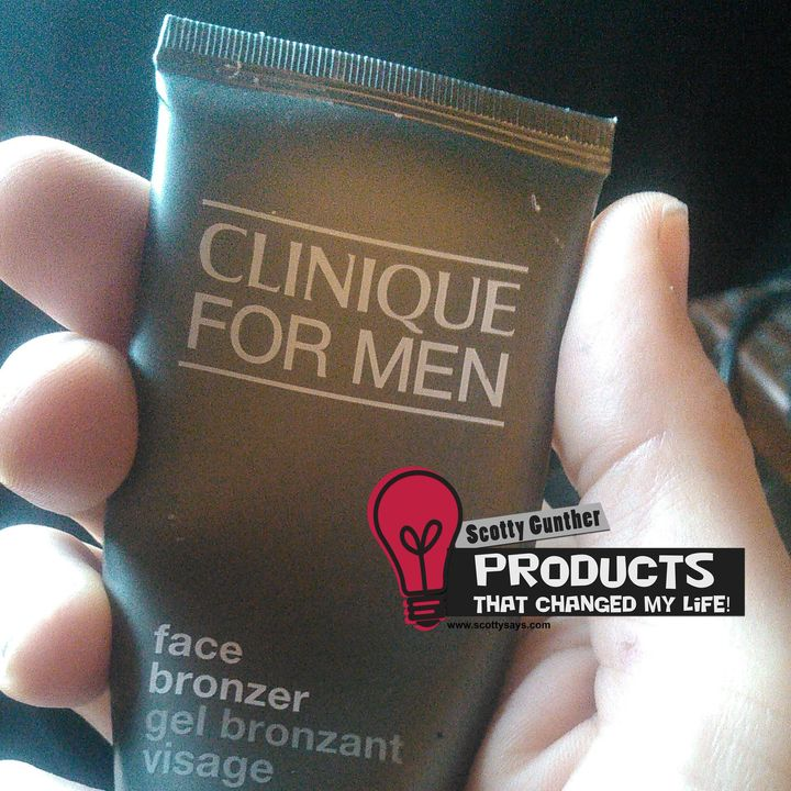 Products that changed my life: Clinique For Men Face Bronzer gel