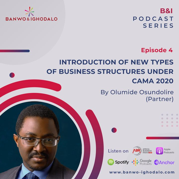 New Innovation in CAMA 2020: Amendments Relating to Introduction of New Types of Business Structures