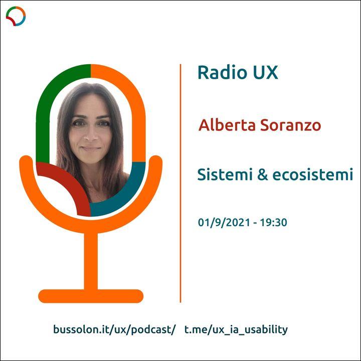 01/09/2021 - Alberta_Soranzo: Sistemi & Ecosistemi