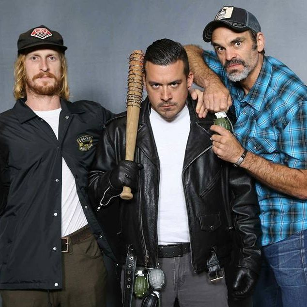 Steven Ogg & Austin Amelio from The Walking Dead - LIVE