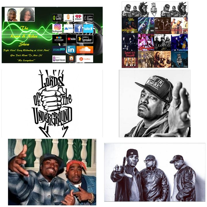 The Kevin & Nikee Show - Dupre' Doitall Kelly - 1/3 of Award-Winning, Legendary Hip-Hop Trio Lords of the Underground, Actor, Entrepreneur