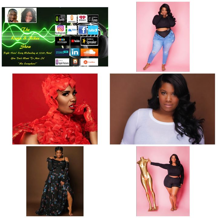 The Kevin & Nikee Show  - Michelle Tucker aka Michelle Ashley - Curvy Commercial Model, Actress and Makeup Artist
