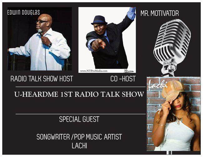 Uheardme1st RADIO TALK SHOW -SONGWRITER / POP MUSIC ARTIST  LACHI