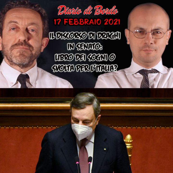 Il discorso di Draghi in Senato