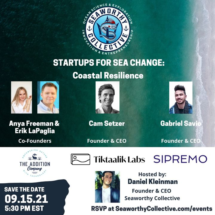 Startups for Sea Change: Coastal Resilience