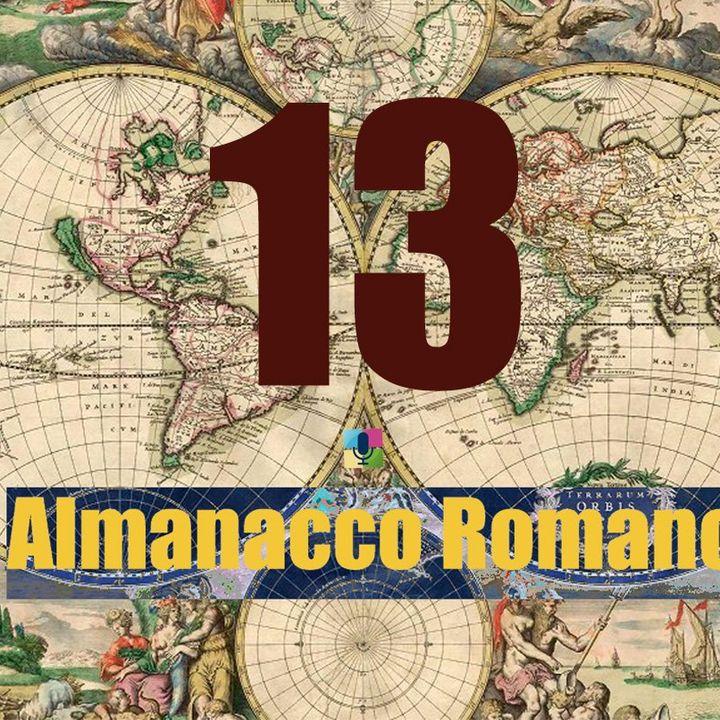 Almanacco romano - 13 novembre