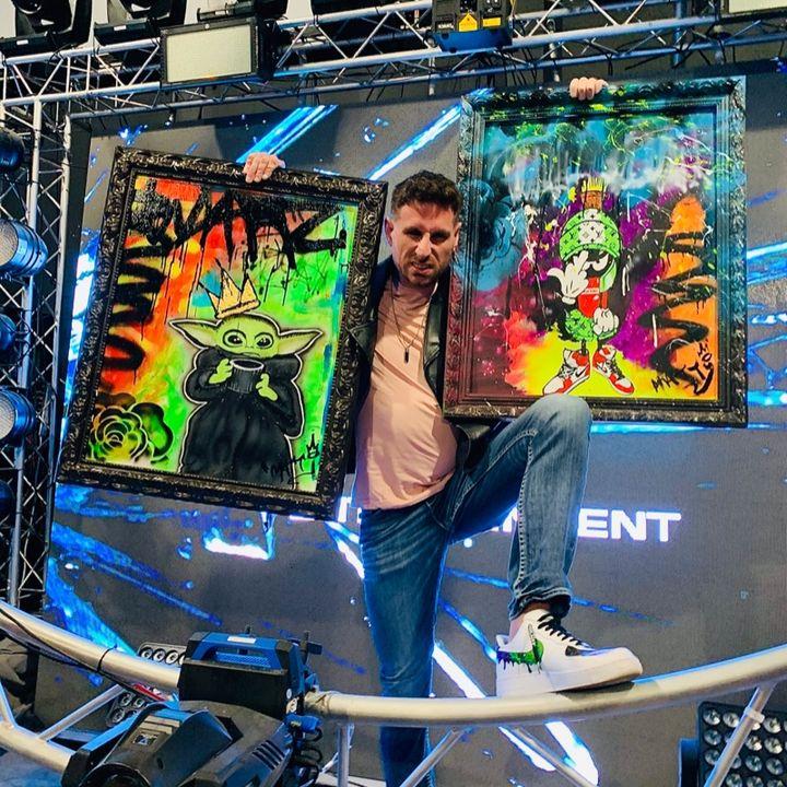 Design Artist Matty Threadz Pops His Cherry LIVE!!!