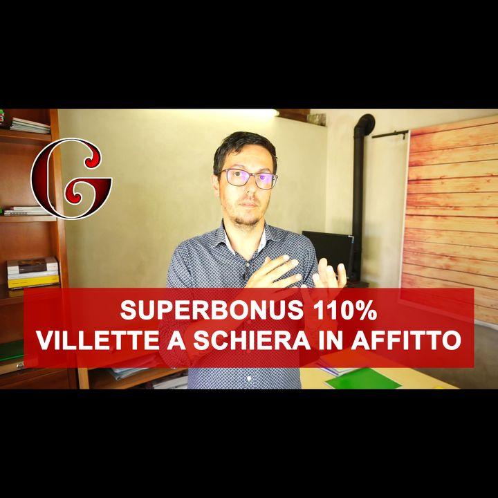 SUPERBONUS 110% Villette a Schiera in affitto - cappotto e caldaia anche per l'affittuario