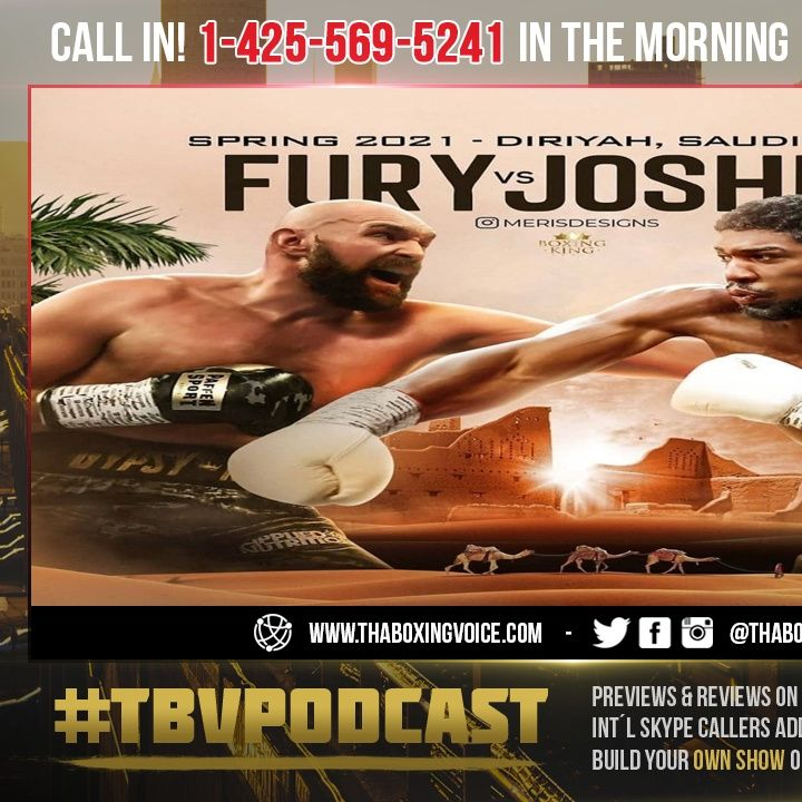 ☎️Tyson Fury Vs Anthony Joshua🔥Does it Really Happen Or Is Wilder's Litigation The ROADBLOCK❗️