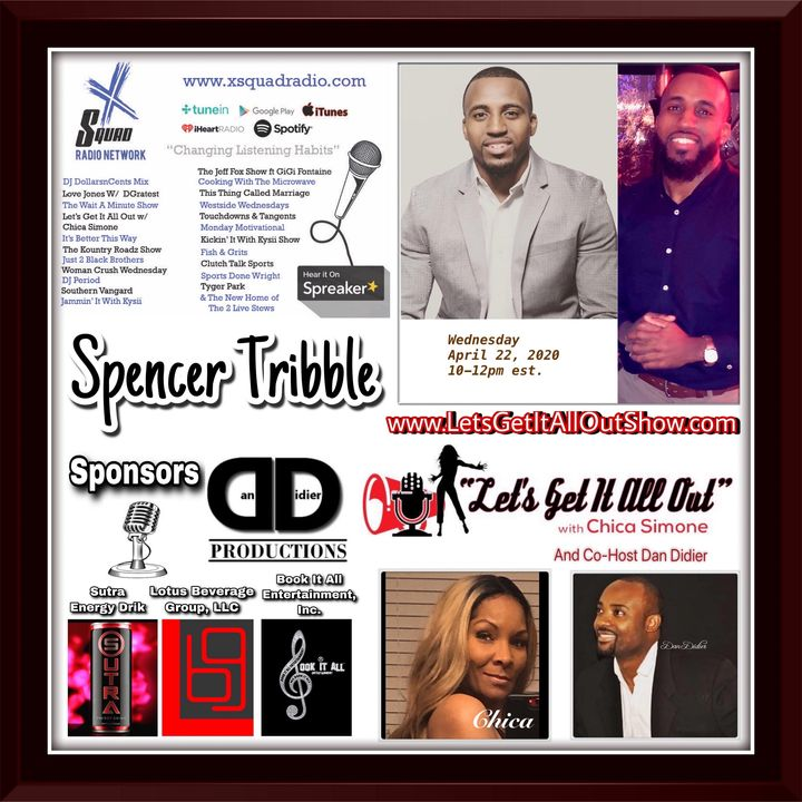 On Demand Special Replay From 04-22-2020 With Spencer Tribble!