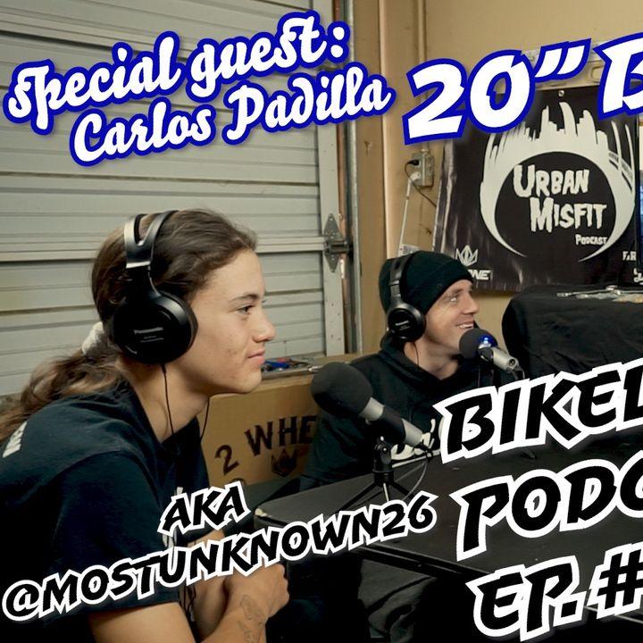 UMP Bikelife Ep. #026   Carlos Padilla brakeless BMX   16yrs Old