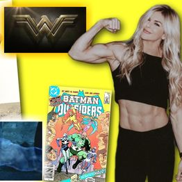 #277: Actress/athlete Brooke Ence from Wonder Woman, Justice League, and Black Lightning!