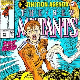 Unspoken Issues #4 - New Mutants #95 (Death of Warlock)