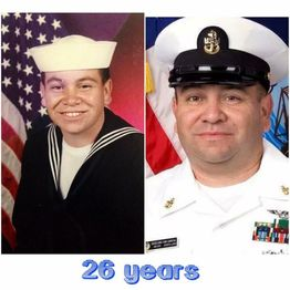 Retired United States Navy Senior Chief Mike Garcia shares his sea stories.