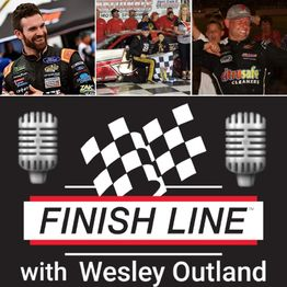 June 5th Episode of #FinishLine presented by All About Wraps & Crateinsider.com w/ Guests Corey Lajoie, Stephen Nasse & Burt Myers!! 🏁🎙🏁