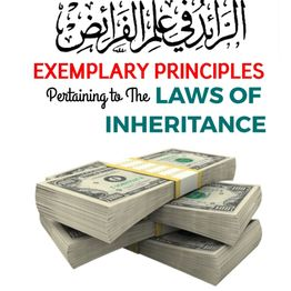 01 - Exemplary Principles Pertaining To The Laws Of Inheritance
