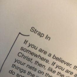 Strap In: James 1:2-3