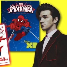 #284: Actor/musician Drake Bell is here to talk about web swinging as the Ultimate Spider-Man!